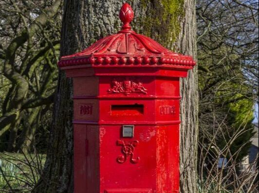 Victorial postbox