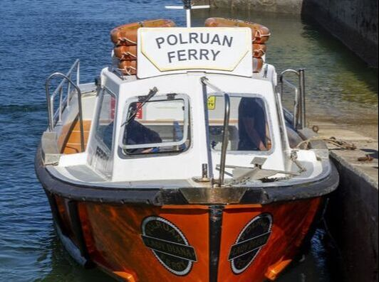 Polruan ferry